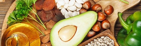 Vitamine E: l'effet en fonction du mode de vie